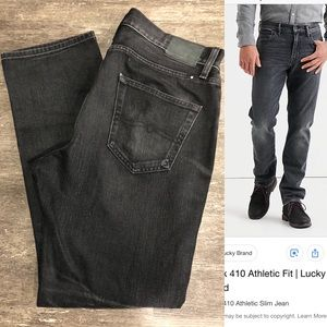 Lucky Brand 410 Athletic Fit Black